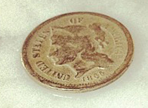 3 Cent US Coin