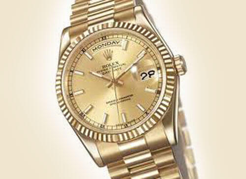 Rolex Gold Watch