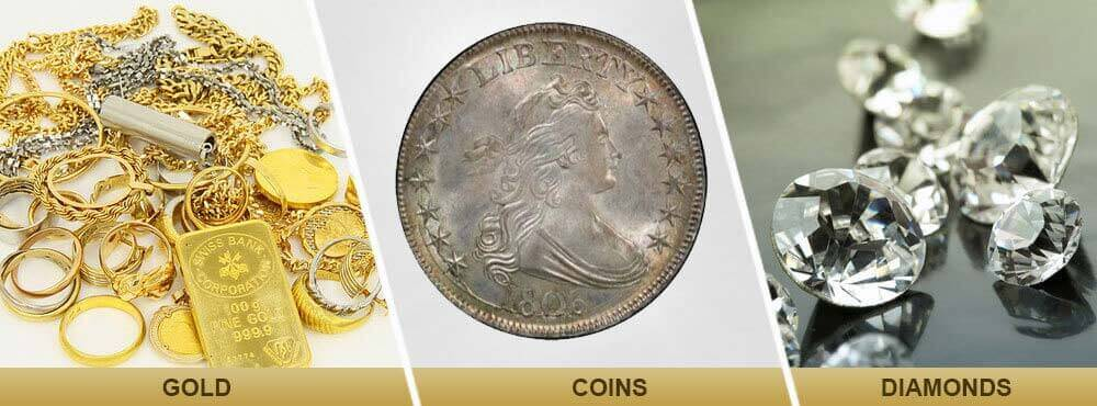 Gold & Silver Coins Buyers